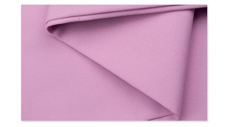 吸湿排汗快干府绸医护面料#紫荷粉