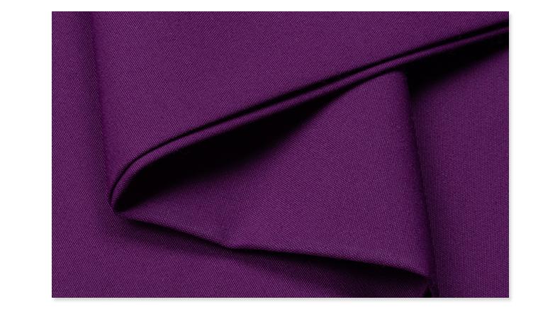 吸湿排汗快干医护面料#葡萄紫