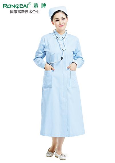 医护服面料耐氯漂医用面料#水蓝绿