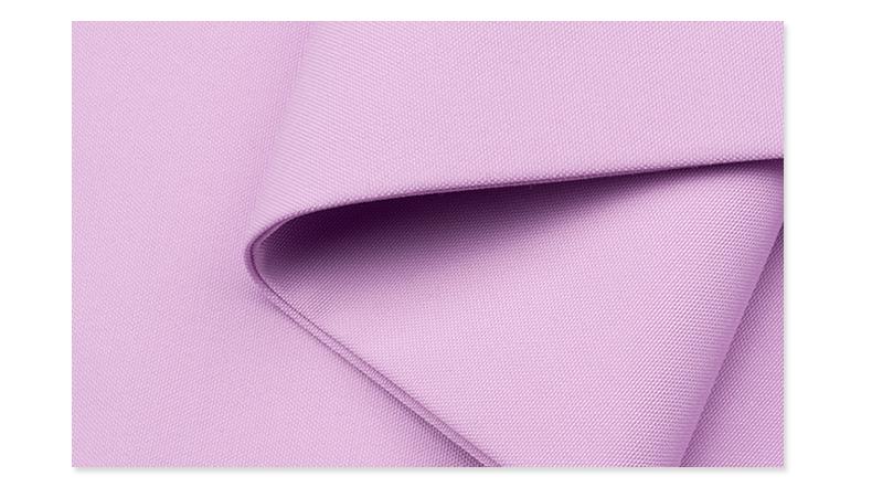 精密纺吸湿排汗医护面料#紫荷粉