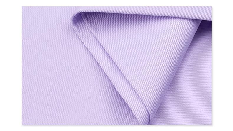 精密纺双面卡医护面料#淡紫
